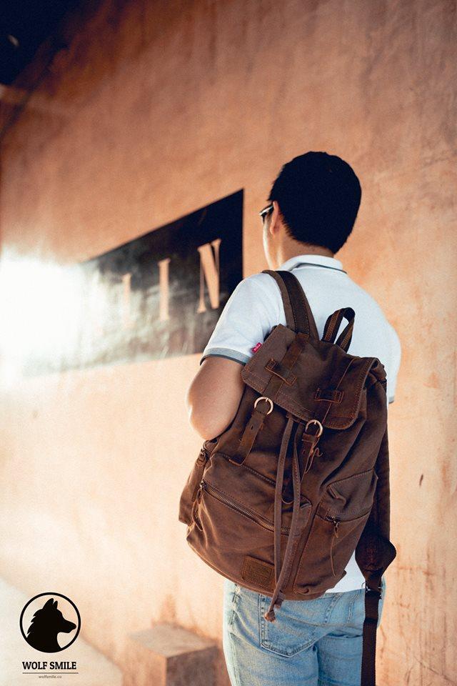 กระเป๋าเป้วินเทจ Vintage แบบเน้นใช้งาน ถึก! ทน! เท่!