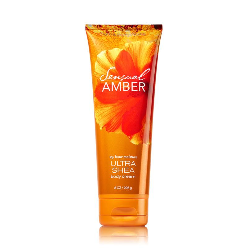 Bath & Body Works Ultra Shea Body Cream 226g #Sensual Amber