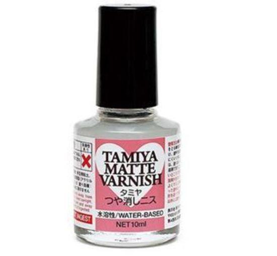 (เหลือ 1 ชิ้น รอเมล์ฉบับที่2 ยืนยัน ก่อนโอน) 76617 tamiya matte varnish 10ml.