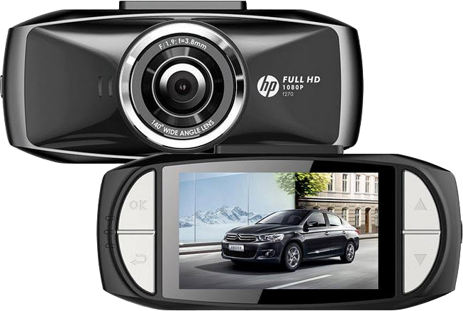HP Car Camcorder f270