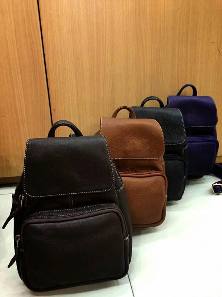 กระเป๋าเป้ สำหรับท่านสุภาพสตรี