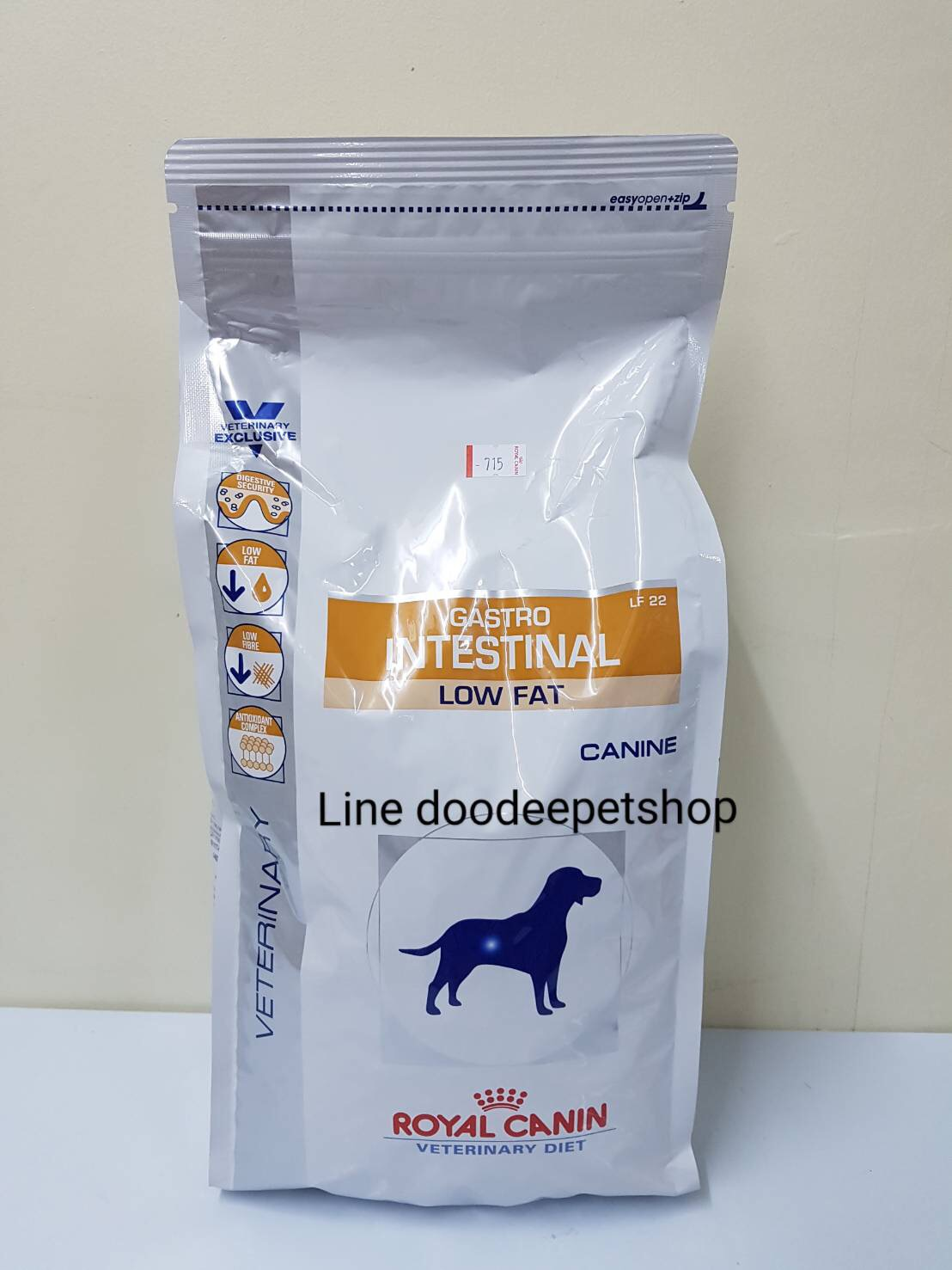 Gastro low fat 1.5 kg Exp.04/19 สุนัขโรคตับอ่อนอักเสบ ไขมันในเลือดสูง .