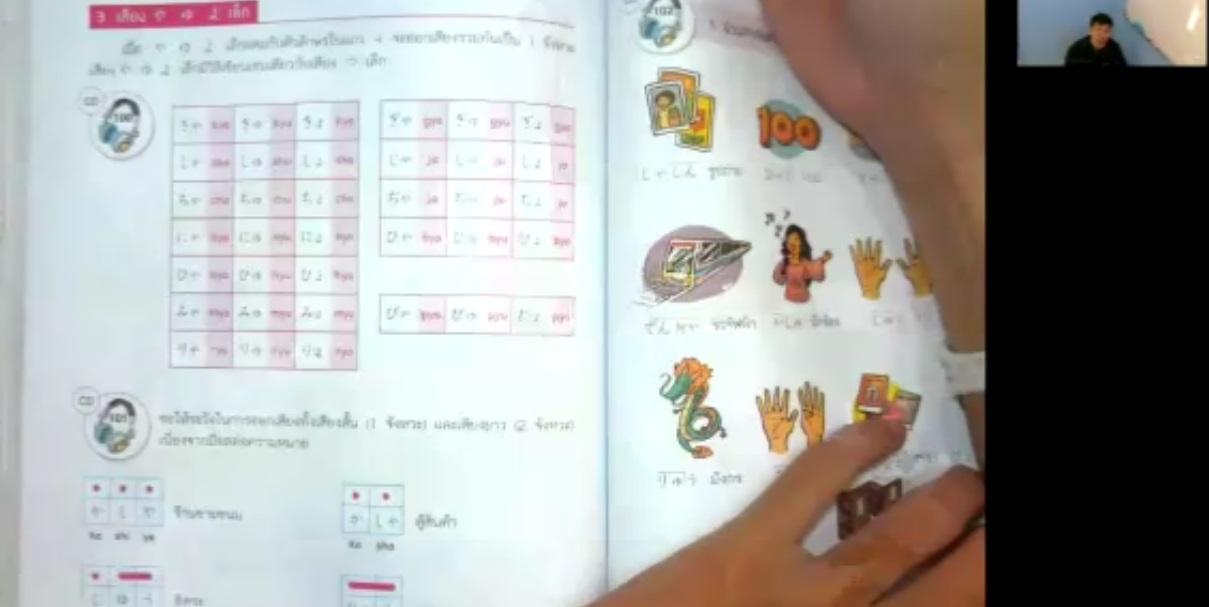 สอนภาษาญี่ปุ่นออนไลน์ (ครูไบท์) ฮิระงะนะ คาบที่ 15 เรื่องฝึกทักษะเป็นตัวเล็กววรค ยะ/ยุ/โยะ ตอนที่1/2