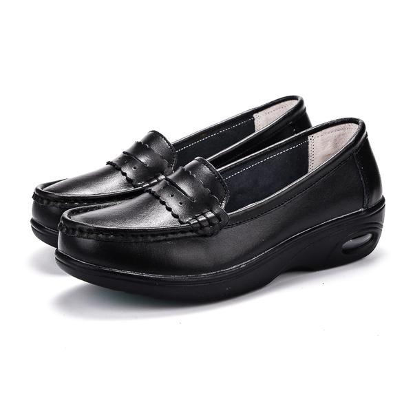 รองเท้าพยาบาล รหัส8016 สีดำ พื้นหนานุ่มนิ่มมาก (พรีออเดอร์)