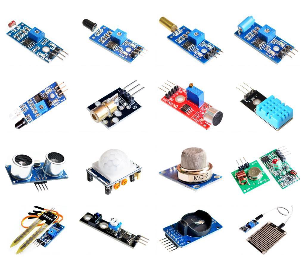 16 in 1 Sensor Module Kit for Raspberry Pi