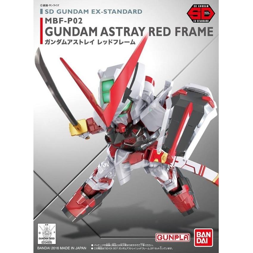 Bandai SD EX STANDARD 007 GUNDAM ASTRAY RED FRAME