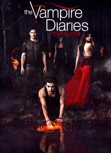 DVD Vampire Diaries Season 5 (บันทึกรักเทพบุตรแวมไพร์ ปี 5) 5 แผ่น ซับไทย