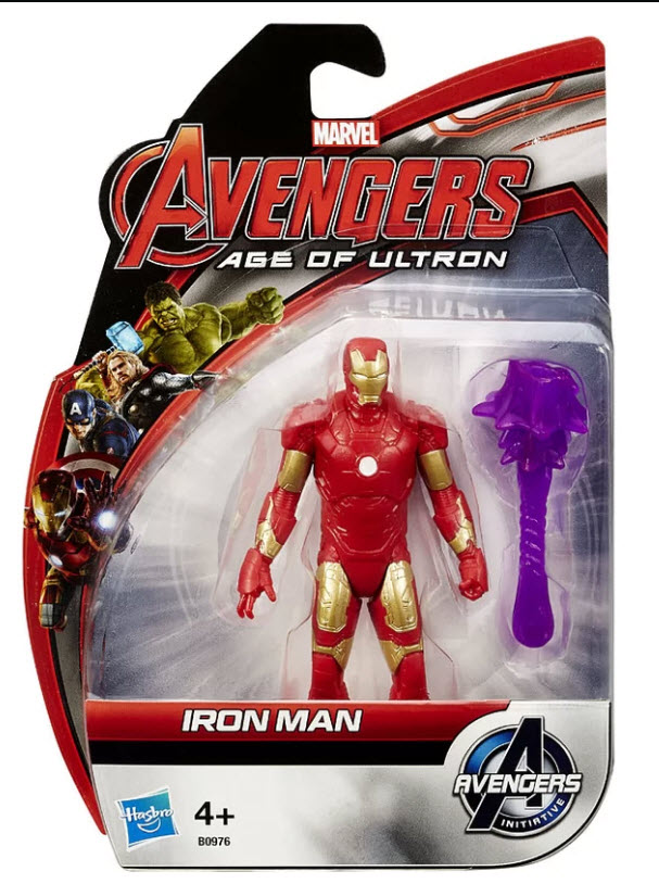 """Avengers Age of Ultron 3.75"""" All Star Figure Series : Iron Man"""