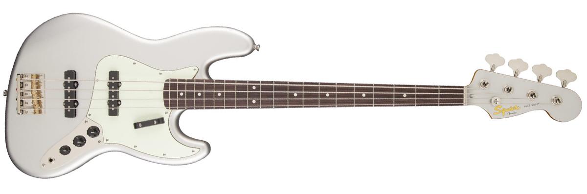 Squier Classic Vibe Jazz Bass Inca Silver