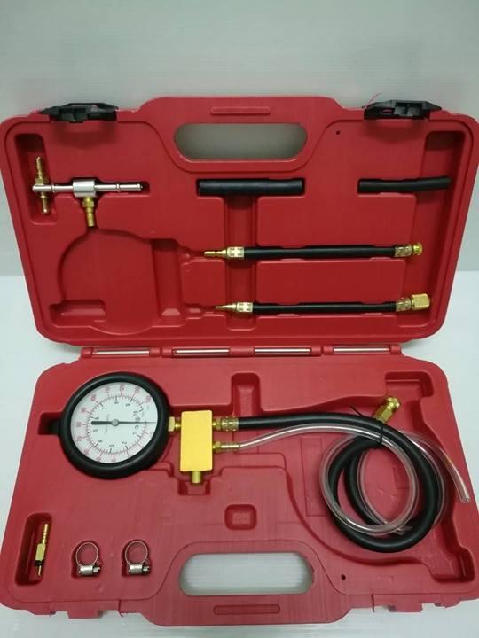 ชุดวัดแรงดันน้ำมันเชื้อเพลิง OKURA รุ่นหัวคอมเปอร์ E-OK-ET008