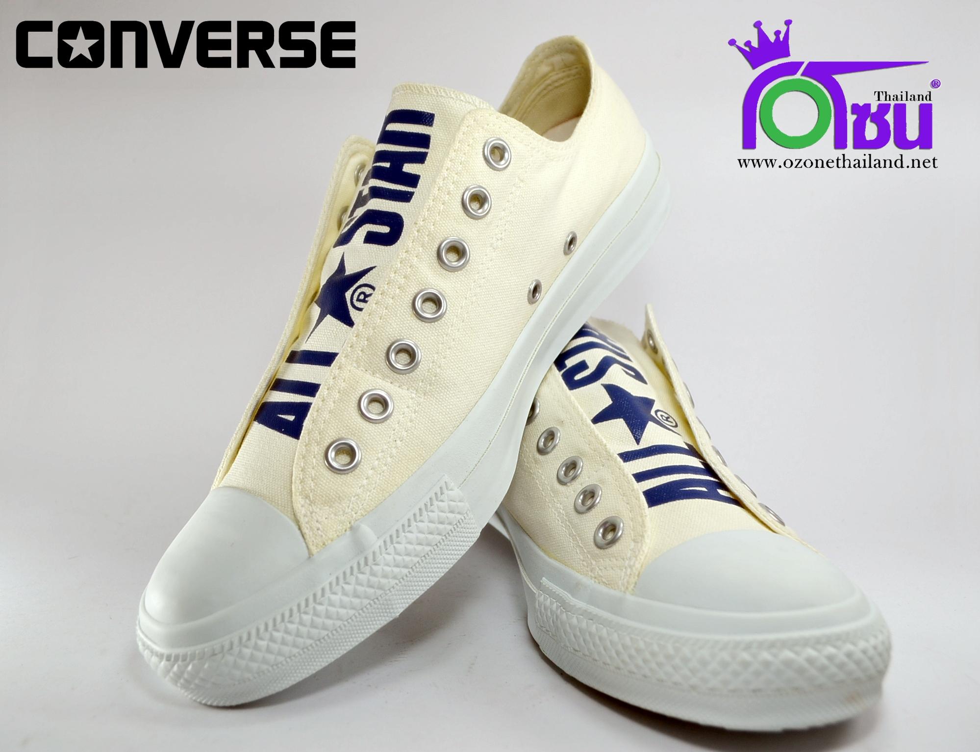 รองเท้าผ้าใบ CONVERSE BIGLOGO R SLIP OX WHITEเบอร์ 6.5' 7.5' 8' 8.5' 9