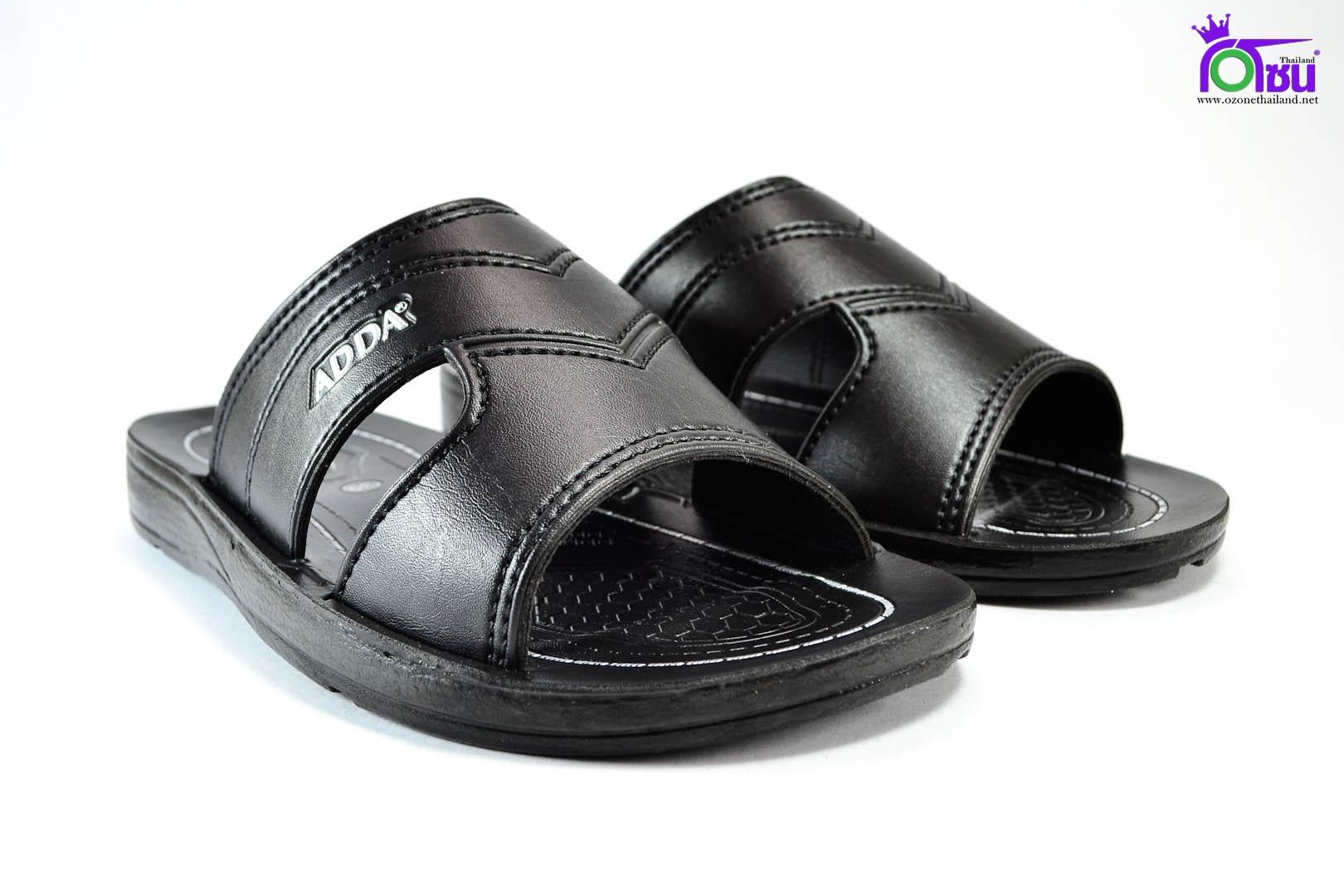 รองเท้าหนัง Adda 7F31 ดำ 39-43