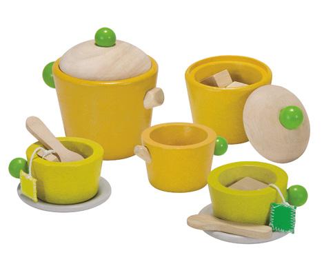 ของเล่นไม้เสริมพัฒนาการเด็ก Tea Set (ส่งฟรี)