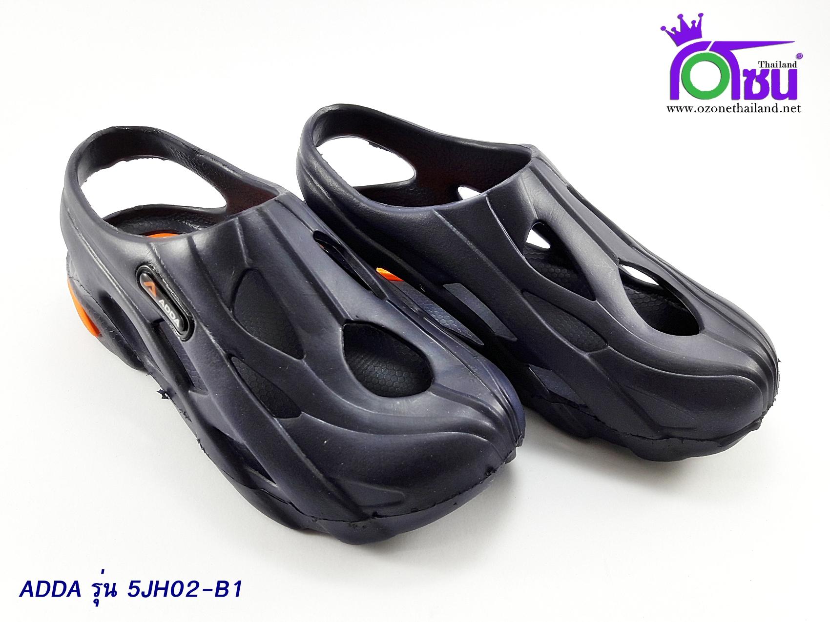 รองเท้า แอ๊ดด้า เด็ก ADDA รุ่น 5JH02-B1 สีกรม เบอร์ 11-3