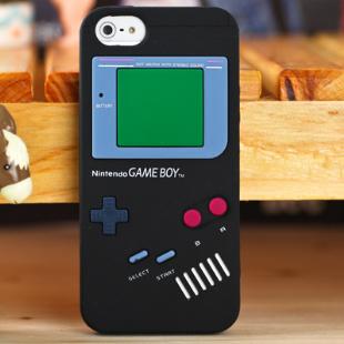 ** พร้อมส่งค่ะ ** เคส iPhone 5/5S/5se ลายGameboy สีดำ