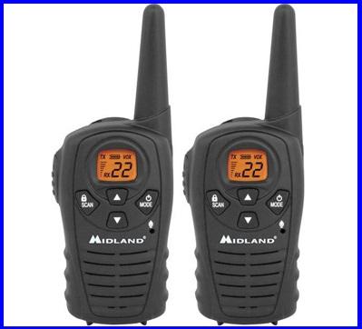 วิทยุสื่อสารสองทาง Walkie Talkie 2-Way Radio MIDLAND LXT118