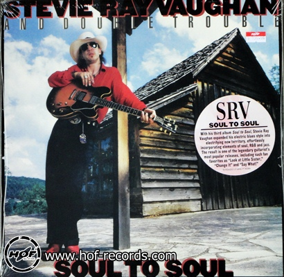 stevie ray vaughan - soul to soul 1lp