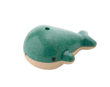 ของเล่นไม้ ของเล่นเด็ก ของเล่นเสริมพัฒนาการ Whale Whistle นกหวีดปลาวาฬ 6 ชิ้น (ส่งฟรี)