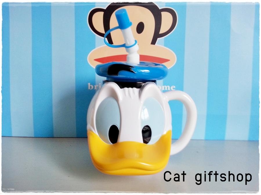 พร้อมส่ง :: แก้วน้ำ Donald Duck