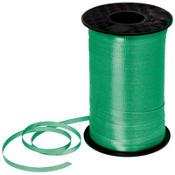 ริบบิ้นม้วนใหญ่ สีเขียวเข้ม สำหรับผูกลูกโป่ง ยาว 350 เมตร - Dark Green Curling Ribbon