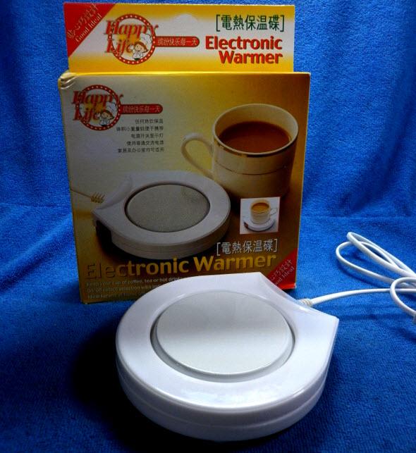 เตาอุ่นแก้วไฟฟ้า Electronic Warmer