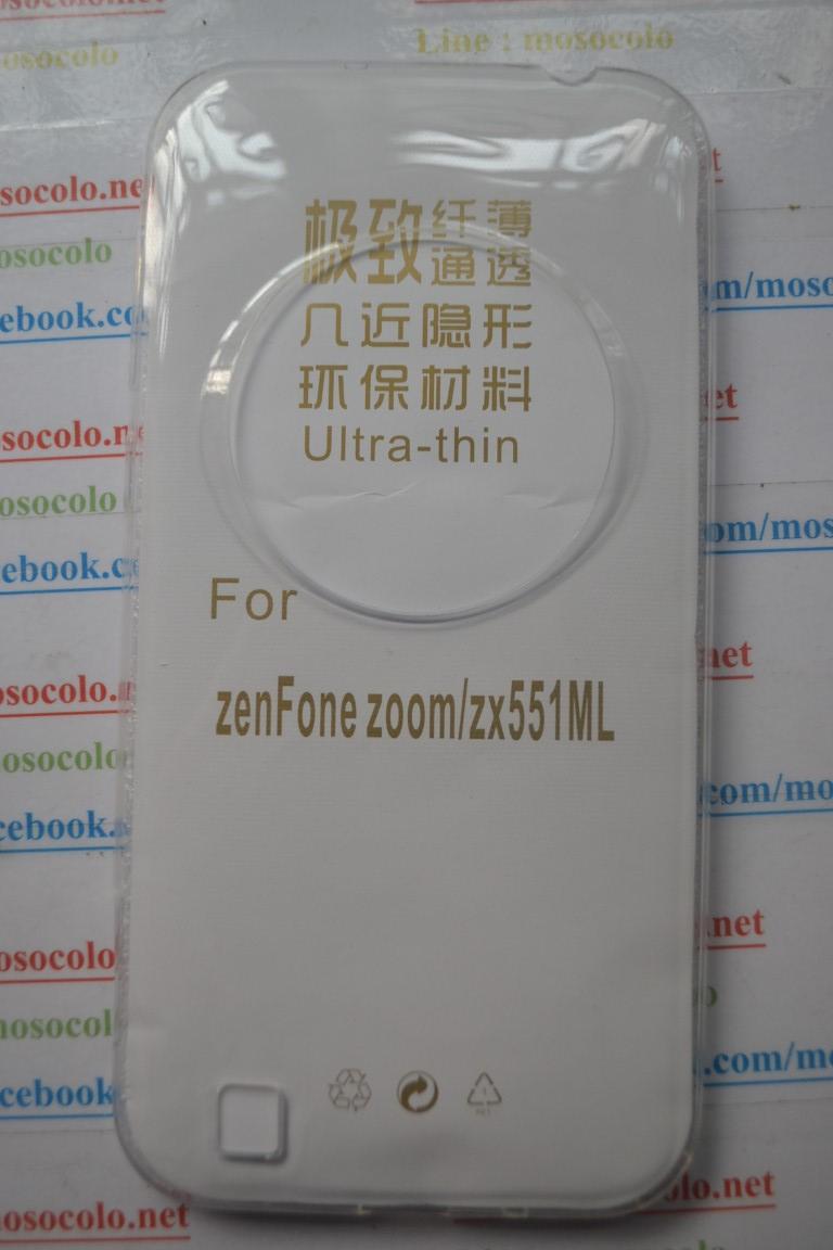 เคส Asus Zenfone Zoom เคสนิ่มใสแบบบาง