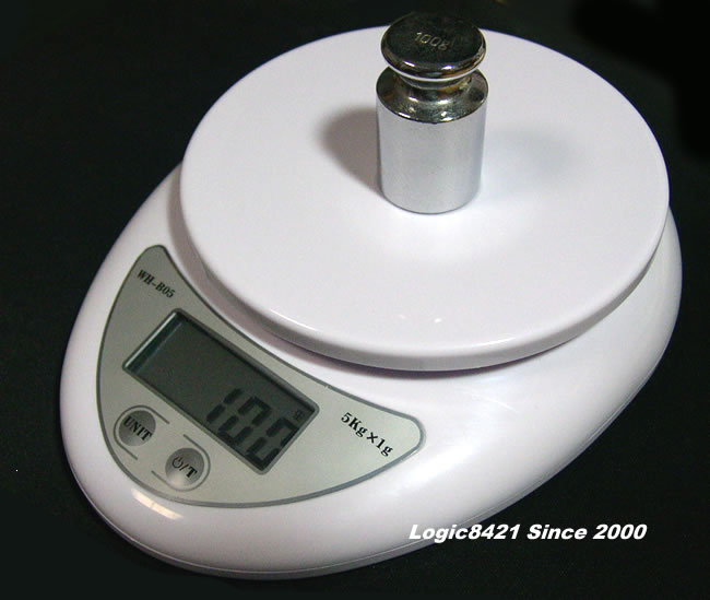 เครื่องชั่งดิจิตอล ตาชั่งดิจิตอล เครื่องชั่งอาหาร เครื่องชั่งน้ำหนัก 5Kg ความละเอียด 1g Digital Mini Kitchen Scale เกรด A