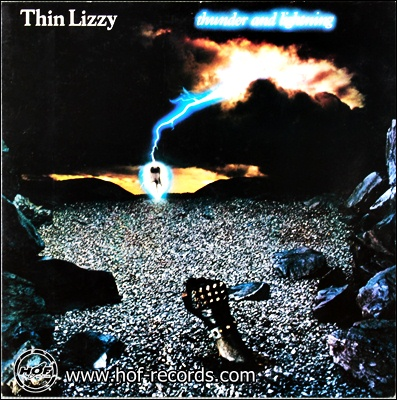 Thin Lizzy - Thunder And Lightning 1983 1lp