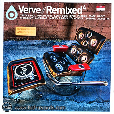 Verve - Remixed4 2lp N.