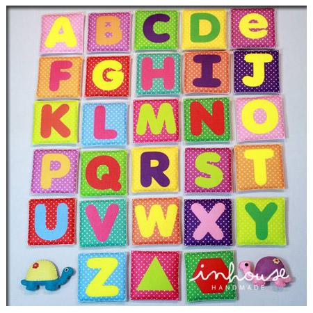 ของเล่นเด็ก ของเล่นเสริมพัฒนาการ Education Toys : Alphabet Card (Box set)