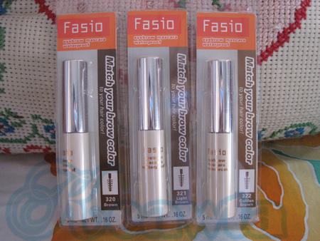 Fasio eyebrow mascara # light brown สีน้ำตาลอ่อน
