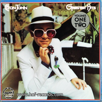 Elton Jhon - Greatest Hits Volumes One And Two 1974 2lp