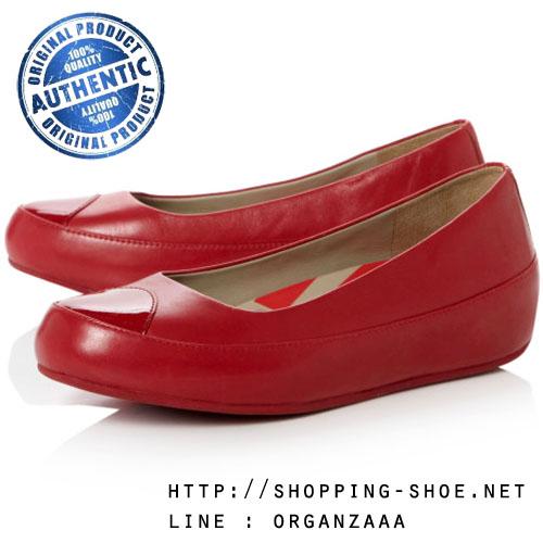 Fitflop Due Leather Rouge ของแท้ นำเข้าจาก USA และ UK