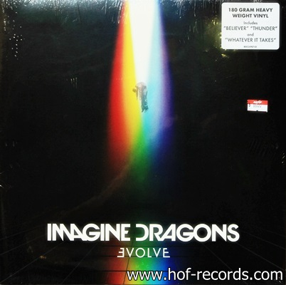 Imagine Dragons - Evolve 1Lp N.