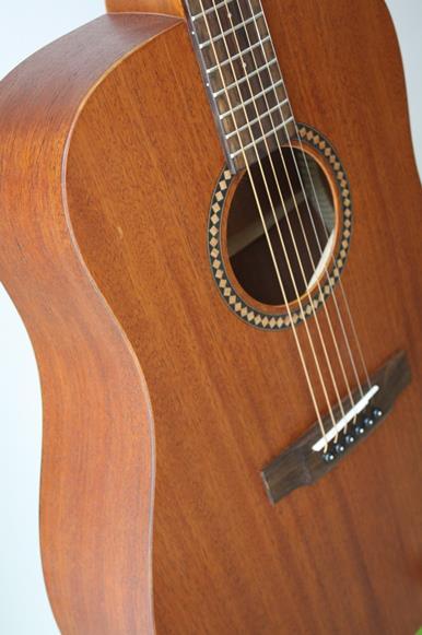 กีต้าร์โปร่ง ไฟฟ้า Guitar Sen Custom RD-1 ไม้ Mahogany