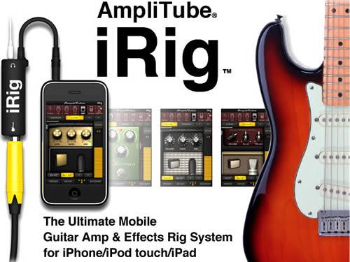 IRIG ชุดอุปกรณ์ต่อพ่วงกีตาร์ไฟฟ้า และเบส เปลี่ยน IPHONE, IPAD, IPOD TOUCH ของคุณ ให้กลายเป็นแอมป์หรือเอฟเฟคระดับมืออาชีพได้ง่ายๆ คุณภาพ 100%