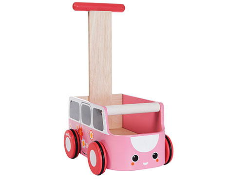 ของเล่นไม้ ของเล่นเด็ก ของเล่นเสริมพัฒนาการ Van Walker – Pink (ส่งฟรี)