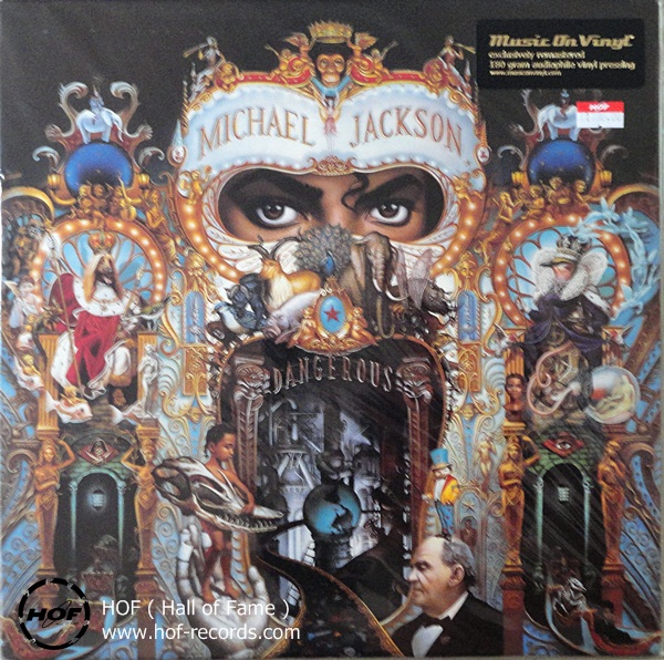 Micheal Jackson - Dangerous 2lp new
