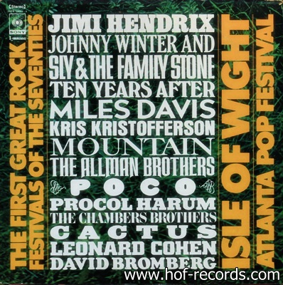 The First Great Rock Festivals Of The Seventies 1970 3Lp