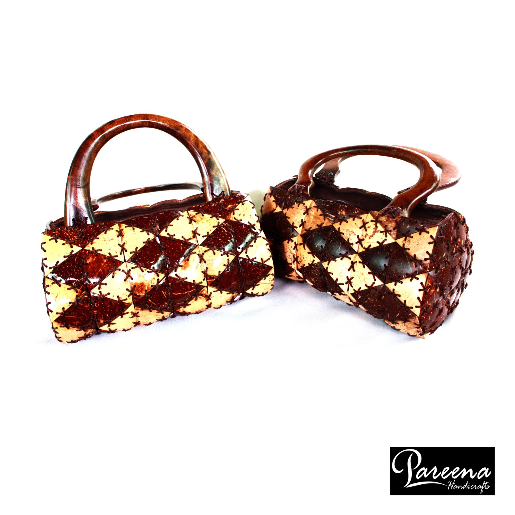 กระเป๋ากะลามะพร้าว Coconut Shell Handbag