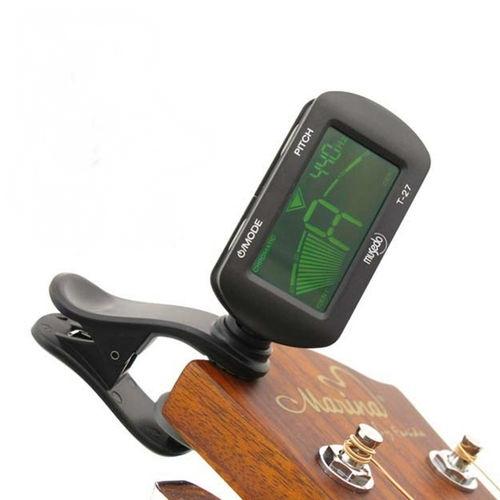 เครื่องตั้งสาย จูนเนอร์ Tuner อูคูเลเล่ Ukuelele กีต้าร์ Guitar Musedo T-27