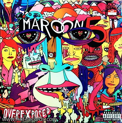 Maroon 5 - Overexposed 1Lp N.