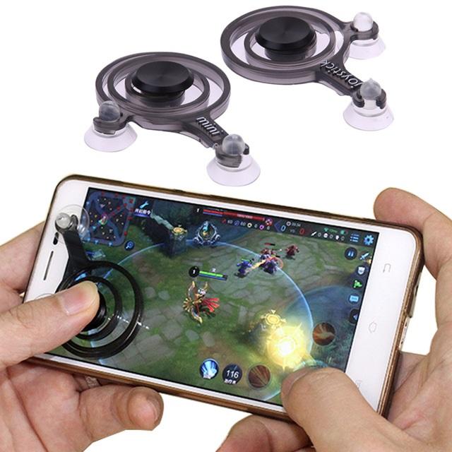 Mobile Joystick จอยเล่นเกมติดหน้าจอโทรศัพท์ทุกรุ่น เล่นROV และเกมอื่นๆได้