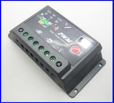 SCC025: โซล่าชาร์จเจอร์ โซล่าคอนโทรลเลอร์ 20A 12V/24V Auto PWM intelligence Solar Charge Controller