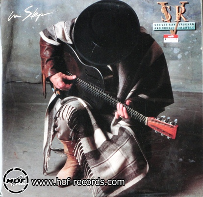 stevie ray vaughan - in step 1lp