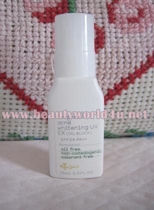ขายส่ง Ettusais Acne Whitening UV (Oil Block) EX spf 24 15 ml. (ขนาดทดลอง) x 5 ขวด
