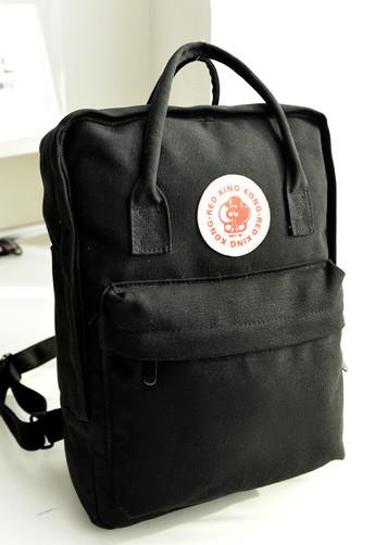 กระเป๋าแฟชั่น กระเป๋า red king kong สีดำ