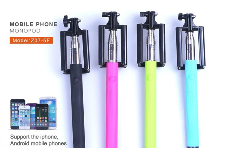 Fold Monopod with Wired Shutter