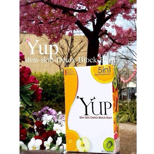 ผลิตภัณฑ์เสริมอาหาร YUP slim -skin-detox-block-burn