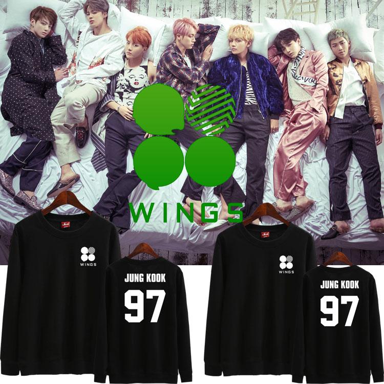 เสื้อแขนยาว (Sweater) BTS WINGS (เมมเบอร์)